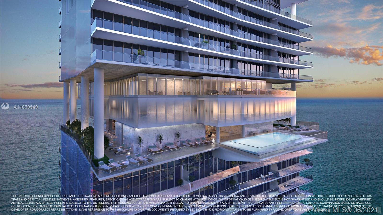 18501  Collins Ave #1902 For Sale A11059549, FL