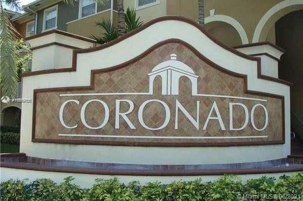 CORONADO AT DORAL IS OFFERING AN AMAZING ILLUMINATED TOWNHOUSE WITH 3 BEDROOMS AND 2 AND 1/2 BATHROOMS. LARGE MASTER ROOM WITH WALK-IN CLOSET. TWO BATHROOMS UPSTAIRS AND DOWNSTAIRS YOU CAN FIND A VERY CONVENIENT HALF BATHROOM. BEAUTIFUL WOODEN FLOORS UPSTAIRS AND TILE FLOOR THROUGH DOWNSTAIRS. THE TOWNHOUSE IS 1256 SQFT. MODERN LARGE KITCHEN WITH MARBLE TOP. WE ARE ONLY SHOWING THE PROPERTY ON 06/27/2021 DUE TO THE TENANTS. THE TENANT IS MONTH TO MONTH AND PLANS TO MOVE OUT ON 07/12/2021.