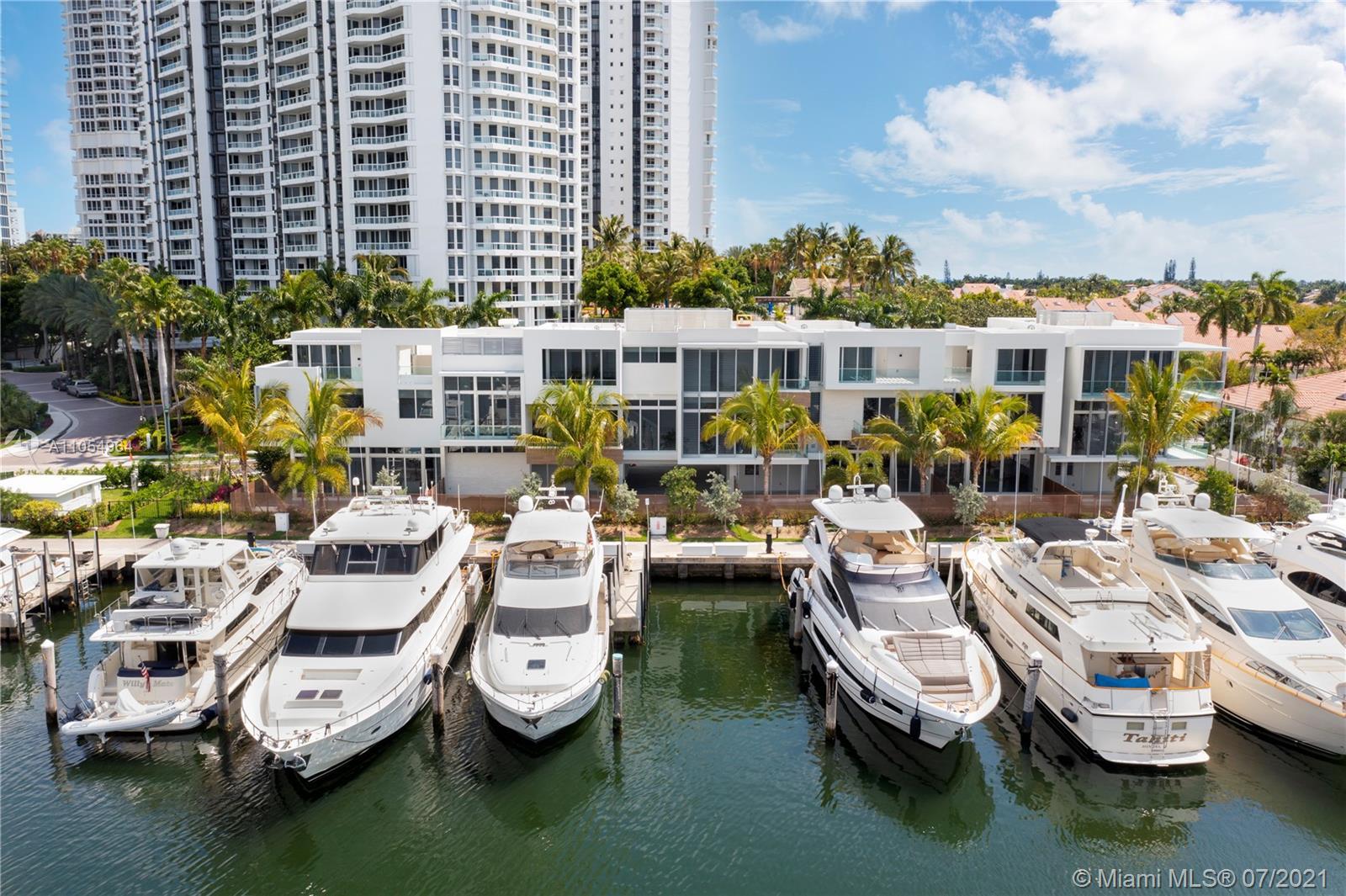 3750  Yacht Club Dr TH2  For Sale A11054964, FL