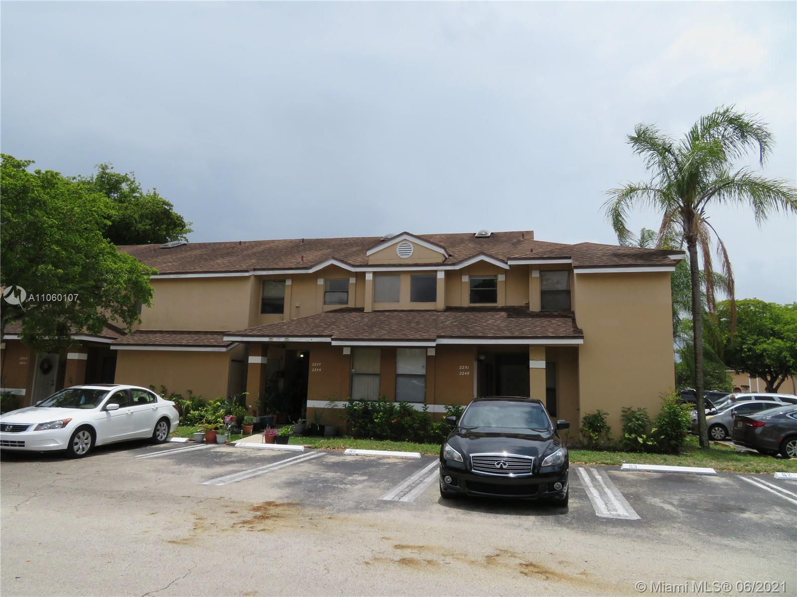 2249 SW 80th Ter #2249 For Sale A11060107, FL