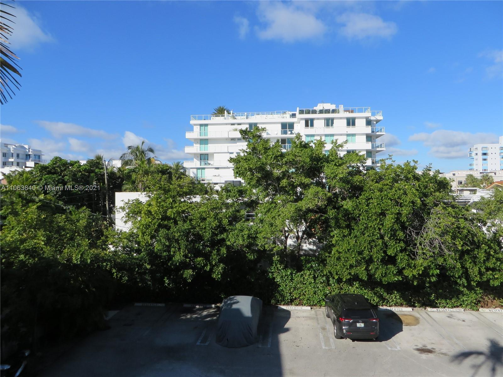 Gorgeous and redone 1 bdrm 1 bath in Bay Harbor Island in boutique building with pool! New kitchen with all new appliances! New bathroom! New flooring throughout! New Impact glass windows! This is the only unit in the bldg with walk in closet! Onsite parking! Onsite laundry! Presently rented until 3/10/21 ** please give 48 hour notice to show