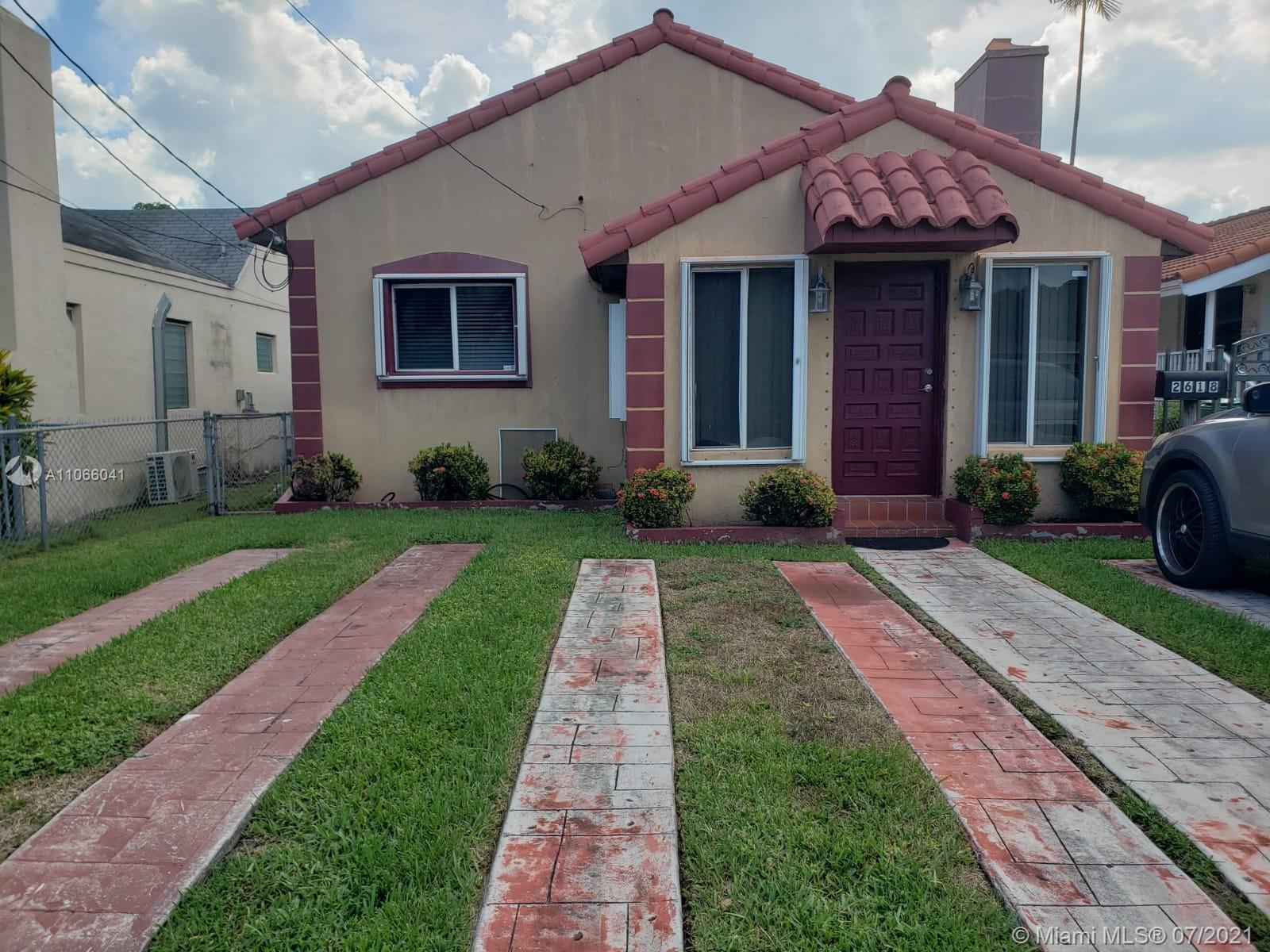 Welcome to Miami, just minutes from Coral Gables. Charming and beautiful! Enjoy the Miami life with this 3/2 home in Silver Bluff.  Great location, minutes from all that Miami has to offer. The home is well maintained, very cosy with a lovely layout. Lovely backyard for entertaining.
