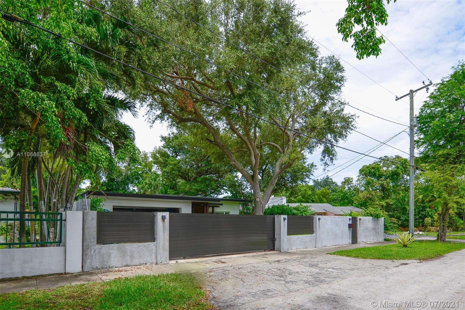 Sleek and sophisticated single family home in the luxurious neighborhood of VISCAYA.  This house was gutted in 2018 and renovated 100%. This 3 Bed / 3 Bath and ½ Bath is seated on a 10,500 SF Lot. Modern elegant touches abound including contemporary lighting, Impact rated doors and windows throughout, wood flooring, Italian-inspired kitchen to entertain, PROPANE 22KW GENERATOR, NEW HVAC's, Electric, Plumbing, Double Car Garage, Automatic gate, central station monitored alarm and surveillance system. Also, this home is completed automated by SAVANT Technology. Control the HVAC, lights, sound, alarm from your phone!  Minutes from Brickell City Center, Banking District, Downtown Miami, Port of Miami, Sports Arena, Arsht Center, Coconut Grove, key Biscayne, Coral Gables, & Miami Airport