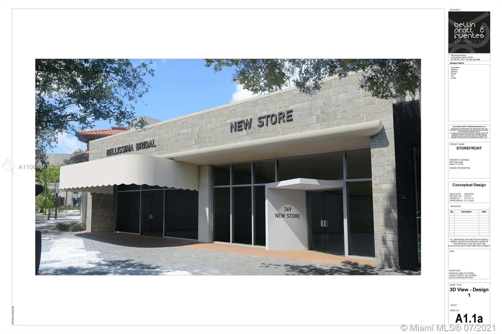 371  Miracle Mile #369 For Sale A11068651, FL