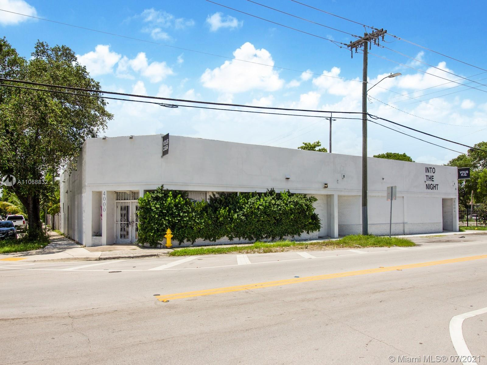 4000 NW 2nd Ave  For Sale A11068832, FL