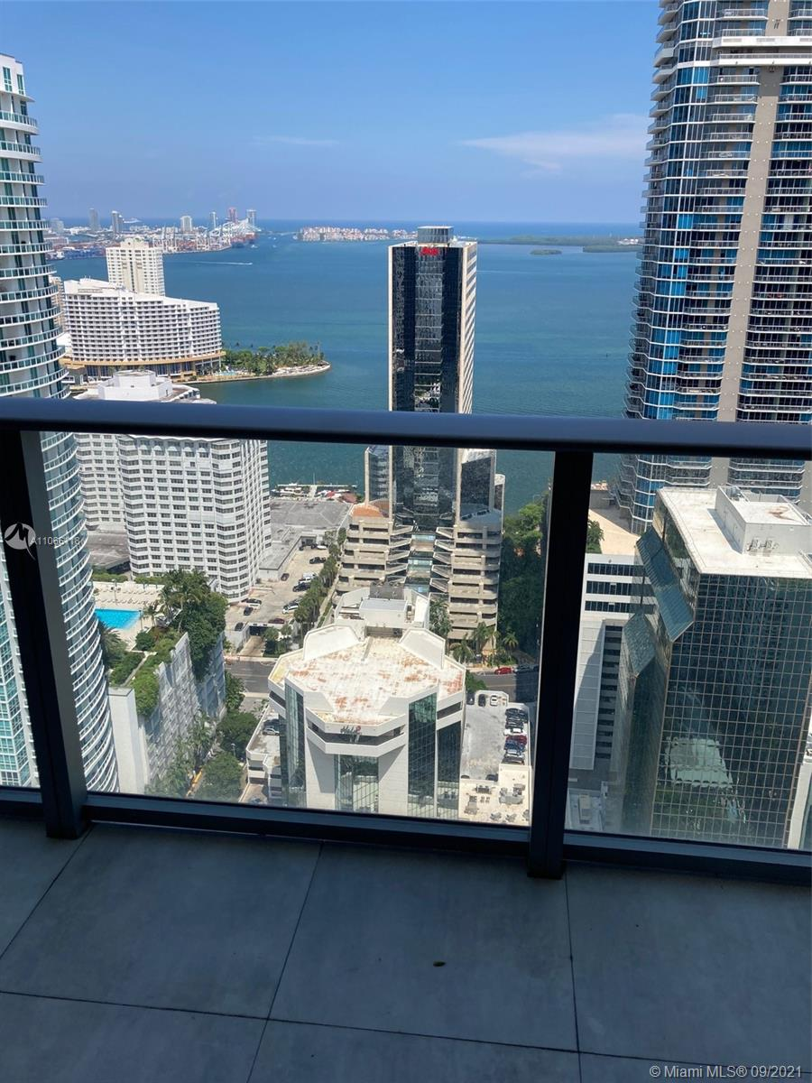 ENJOY A HIGH PREMIUM FLOOR WITH A PRIVATE ELEVATOR TO THIS MODERN 2 BEDROOMS, 3 FULL BATHROOMS, 2 DENS PROVIDING UNOBSTRUCTED AMAZING VIEWS OF BISCAYNE BAY, PORT OF MIAMI, & MIAMI BEACH FROM THE LIVING ROOM, KITCHEN AND BOTH SPLIT BEDROOMS, ACCESS THE BALCONY FROM LIVING ROOM & BEDROOMS WITH WATER VIEWS, EXPERIENCE DISNEY WORLD 5 STAR AMENITIES MOST & BEST IN MIAMI INCLUDING INDOOR POOL, JACUZZI, SPA, INDOOR BASKETBALL, INDOOR RACQUETBALL/HANDBALL, LARGE GYM, DANCE & YOGA STUDIO, GAME ROOM WITH BOWLING ALLEYS, GOLF SIMULATOR, PING PONG, BILLIARDS, HOCKEY, OTHER ADULT TOYS, SAUNA, INDOOR LOUNGES & MEDIA TV ROOM, INDOOR CHILDREN'S PLAYROOM, RUNNING WALKING TRACK AROUND THE BLDG, OUTDOOR POOL, BARBECUES & OUTDOOR DINING, PRIVATE VENUES LOUNGING OUTDOORS, WALK TO MAJOR SHOPPING & RESTAURANTS.