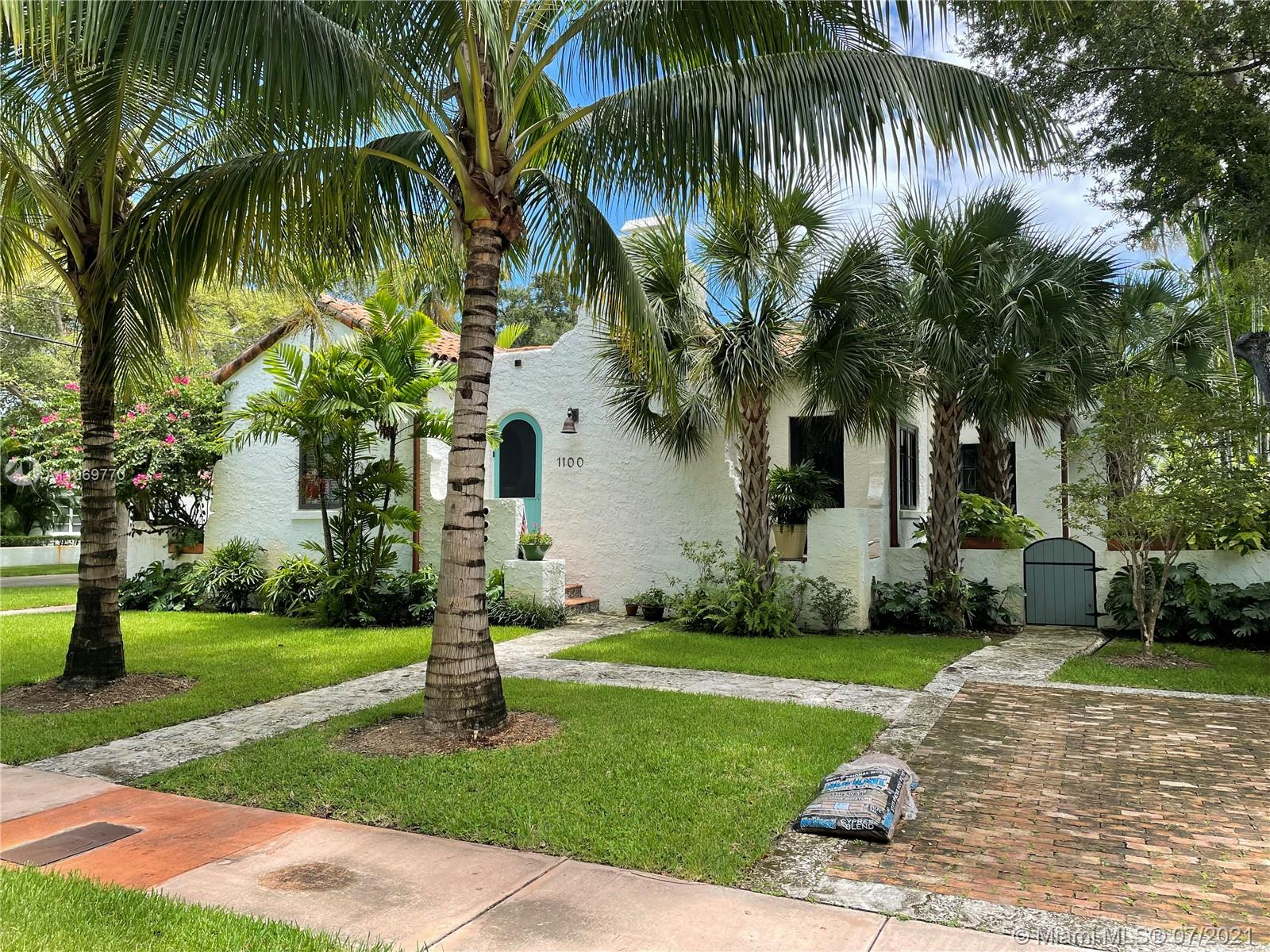 Classic Mediterranean Home in the heart of the Coral Gables Historic Area.  This Denman Fink designed ( Designer of the Venetian Pool and The Gables Entrances) home has been passionately restored and renovated by the current owner. The home has new a roof, plumbing, electric, HVAC, Kitchen, Bathrooms, Impact Windows and Doors, Keystone and tile inlay walkways and Patios. Too many improvements to list. A new home in a 1924 shell. Everything that wasn't restored was duplicated by local craftsmen.  Located on the quiet corner of Asturia and Cordoba a block from the Granada Golf Course and blocks to Downtown Coral Gables with its shops and restaurants. A rare opportunity to purchase a restored classic in Coral Gables.