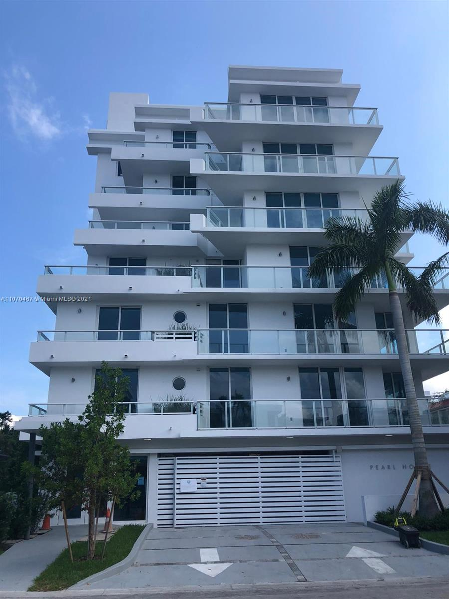 RARE 3 Bedrooms+DEN,3.5 Baths.1819 s.f. of living space as per public records. PEARL HOUSE is composed of 7 Floors, 15 Units. Pearl House is a  Boutique Building!!! Unit has 2 Pkg Spaces, 1 Storage Room, Bike Storage, Pool on Top and Large Balconies. Unit comes with Open Kitchen, Miele Appliances, Subzero Refrigerator, Baths with Exotic Stone & Walk in closets. WALK TO RESTAURANTS, SHOPS, AND THE BEACH!