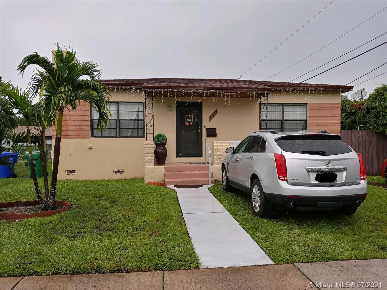 Great starter home for family that rather not deal with an association. Cozy 2/1 with a nice size backyard to have family BBQ or fit a boat. Extremely convenient for any boat owner, only 5 mins away from the marina. Located in a quiet neighborhood but still remarkably close to all the entertainment like Downtown, Brickell, Coconut Grove, and the Beach. Can also be an investors dream! Two properties right next to each other both in T3 zone with many 2 story duplexes that are being built in the neighborhood the other property address is 3041 SW 27 AVE. Property is currently occupied by tenants that are month to month.