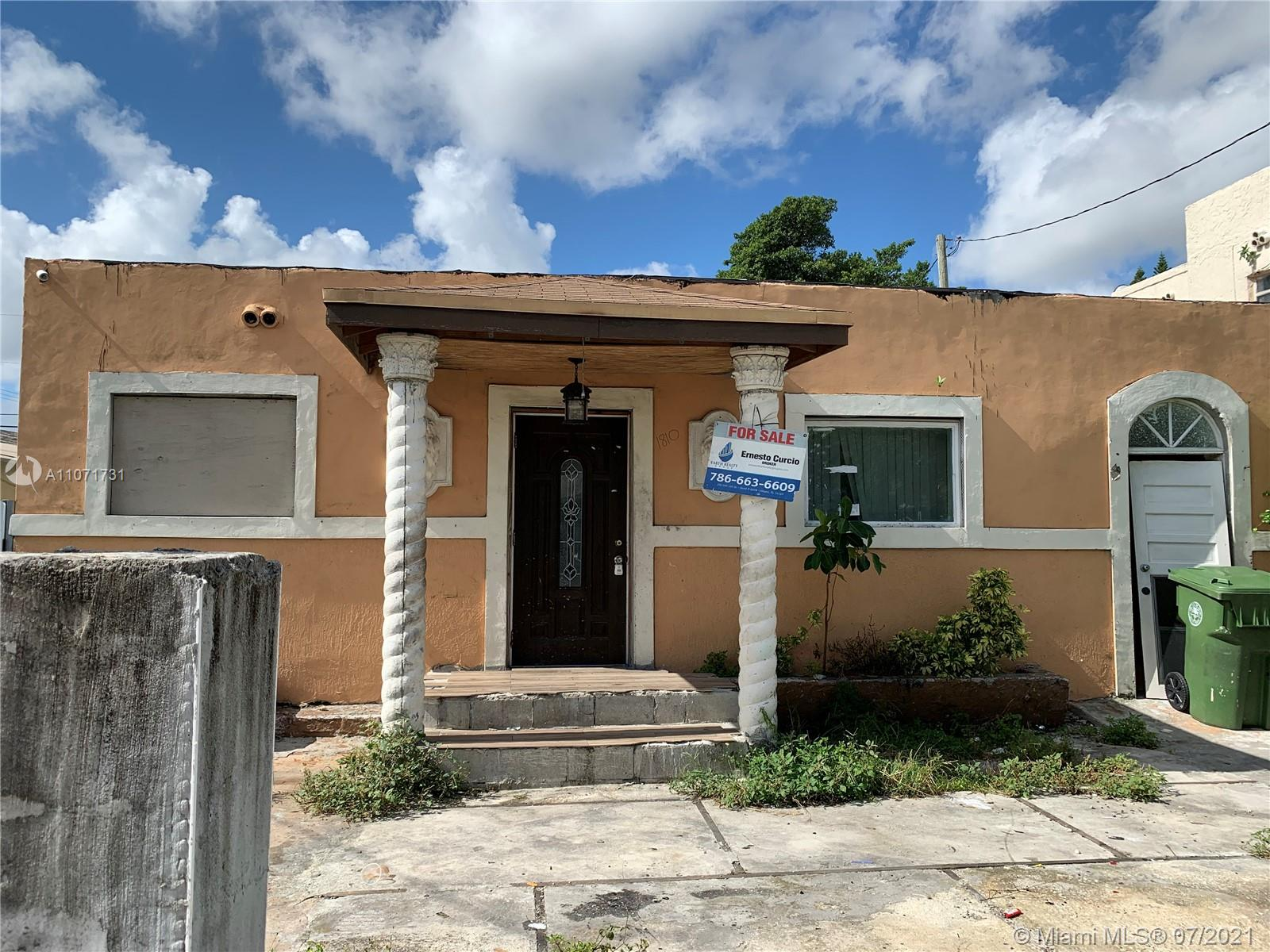 1810 NW 46th St  For Sale A11071731, FL