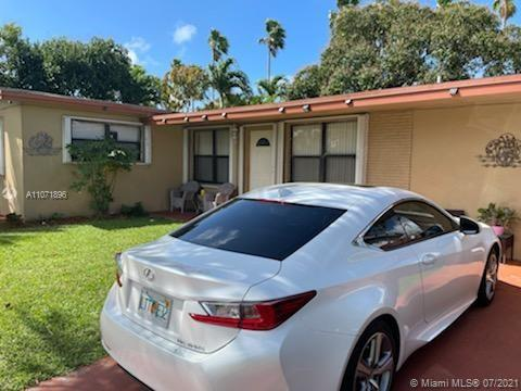 """BUY THIS SINGLE FAMILY FAMILY RESIDENCE IN A BEAUTIFUL HALLANDALE BEACH MINUTES FROM THE BEACH, SHOPPING CENTERS, MALLS, MAJOR HIGHWAYS AND MUCH MORE. THE PROPERTY FEATURES 3 BEDROOMS AND 3 BATHROOMS WITH A NICE KITCHEN, BATHROOMS, FRUIT TREES AND MUCH MORE. HURRY IT WON""""T LAST!"""