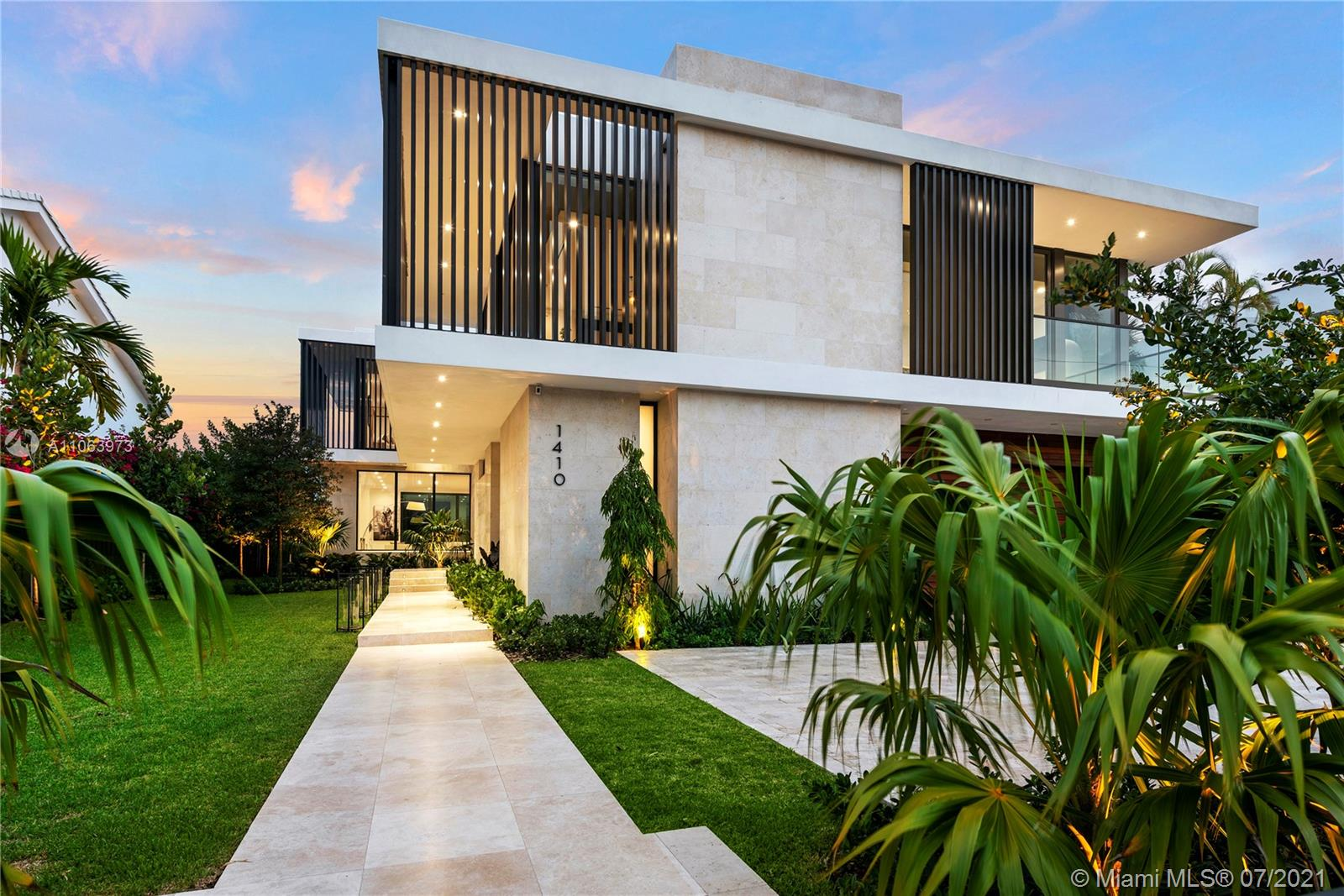 1410 S Biscayne Point Rd  For Sale A11063973, FL