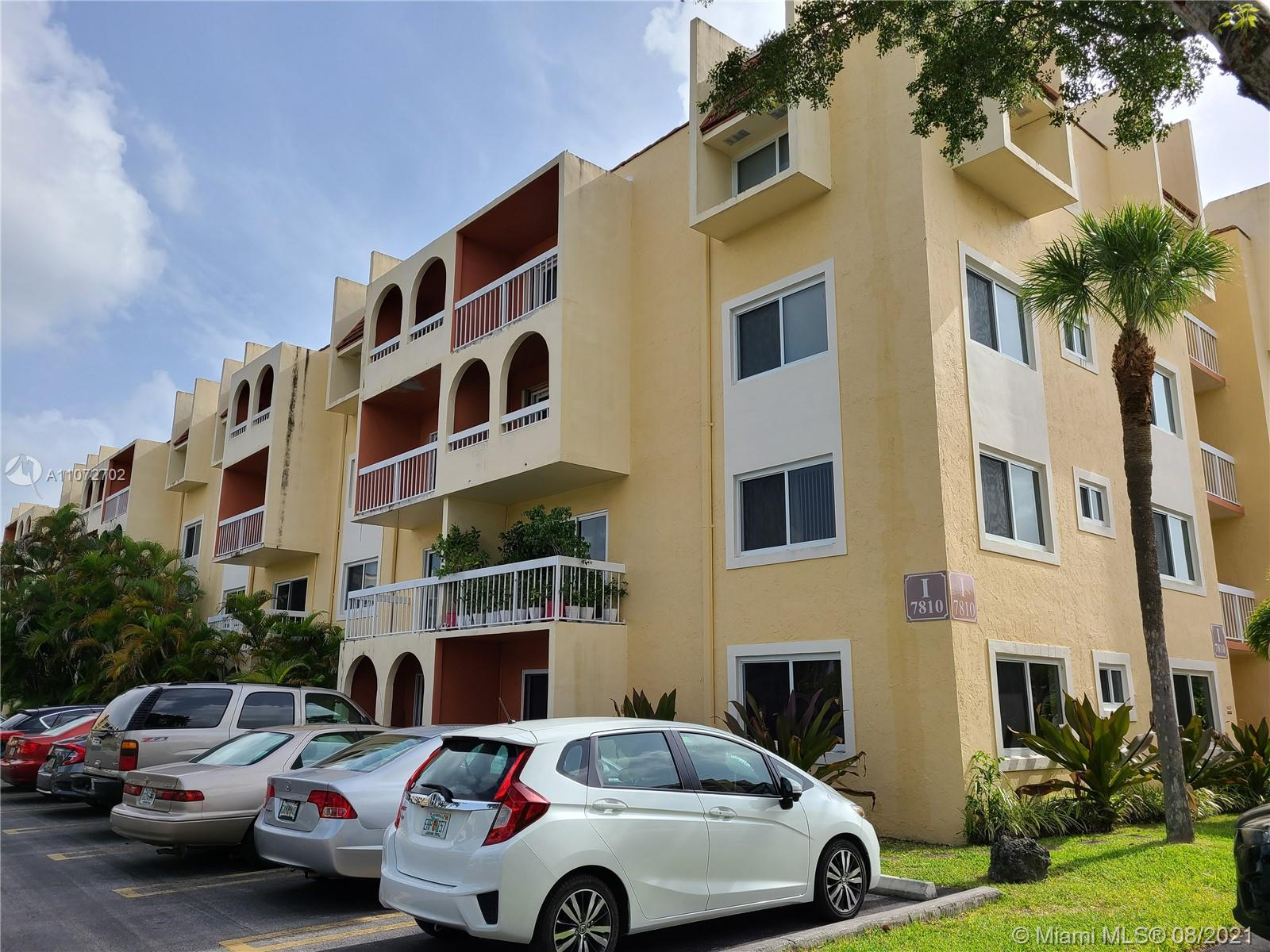 Ideally located at Village of Kings Creek, minutes away from Palmetto Expressway, lots of fine dining and shopping. This well maintained 2 bedroom 1 bath condo is a great starter home or an ideal rental investment property. Ready for a new owner to place their personal touch. Unit has impact windows and impact sliding glass door4. Dogs are not allowed in the community. 1 cat per unit but must remain inside (see attached rules for restrictions). Sold AS-IS.