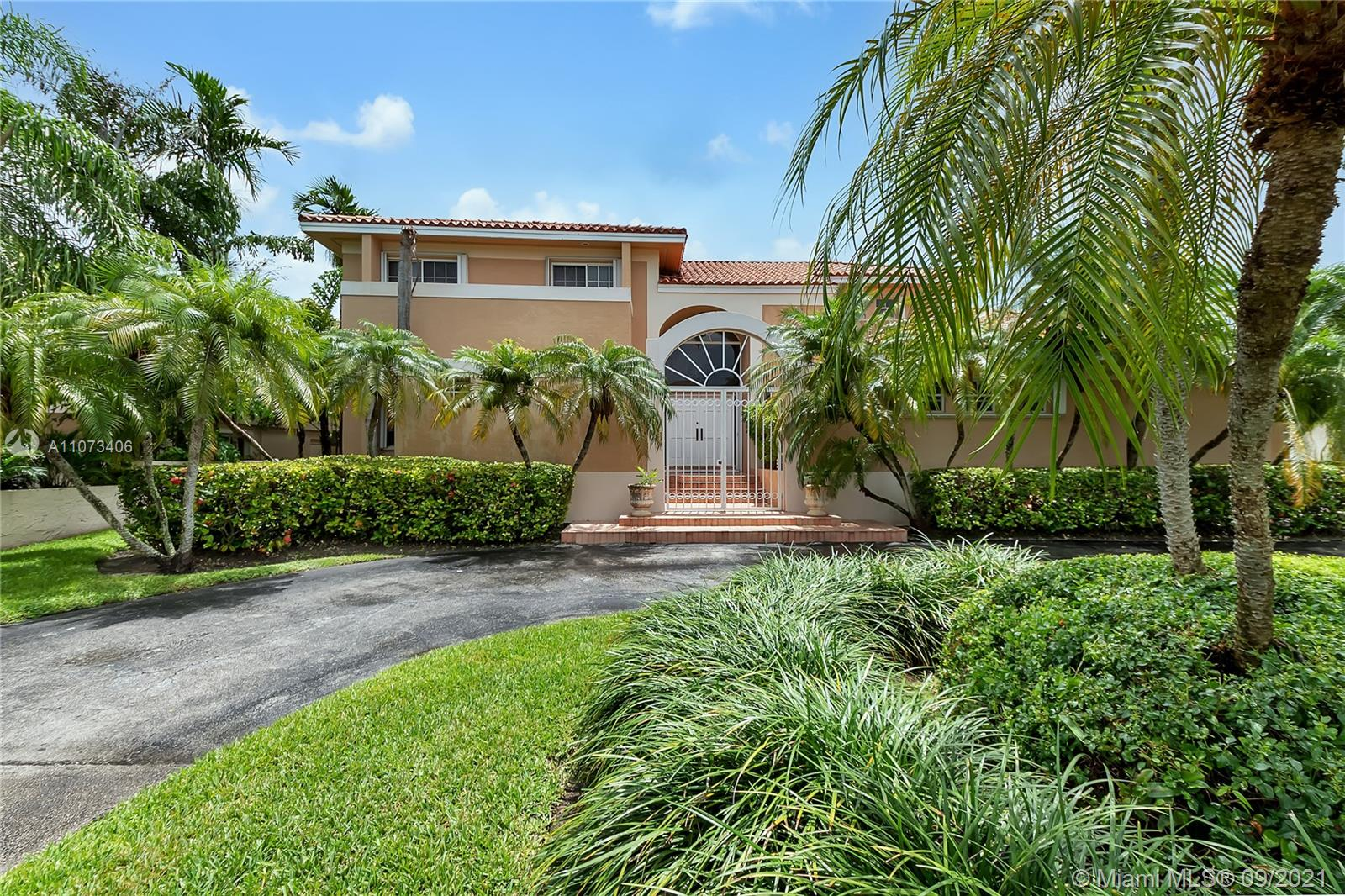 Have you ever wanted a home with a year-round vacation feel? Luxury home in GABLES BY THE SEA. Located in Guard-Gated Gables by the Sea on a 10,800 SF waterfront lot.  Amazing Canal with magnificent water views with sea-wall and deck . Amazing for families. Renowned Gulliver Schools are right around the corner and other top-rated private and public schools (Pinecrest Elementary) are nearby. Step outside onto your beautiful sun-kissed pool deck to enjoy your morning coffee and the sounds of coastal living. Covered out door terrace, large pool, 100 ft Dock. Wide deep water Canal. Bring your buyers to see this dream home NOW.  An opportunity to live the dream life, will not last long.