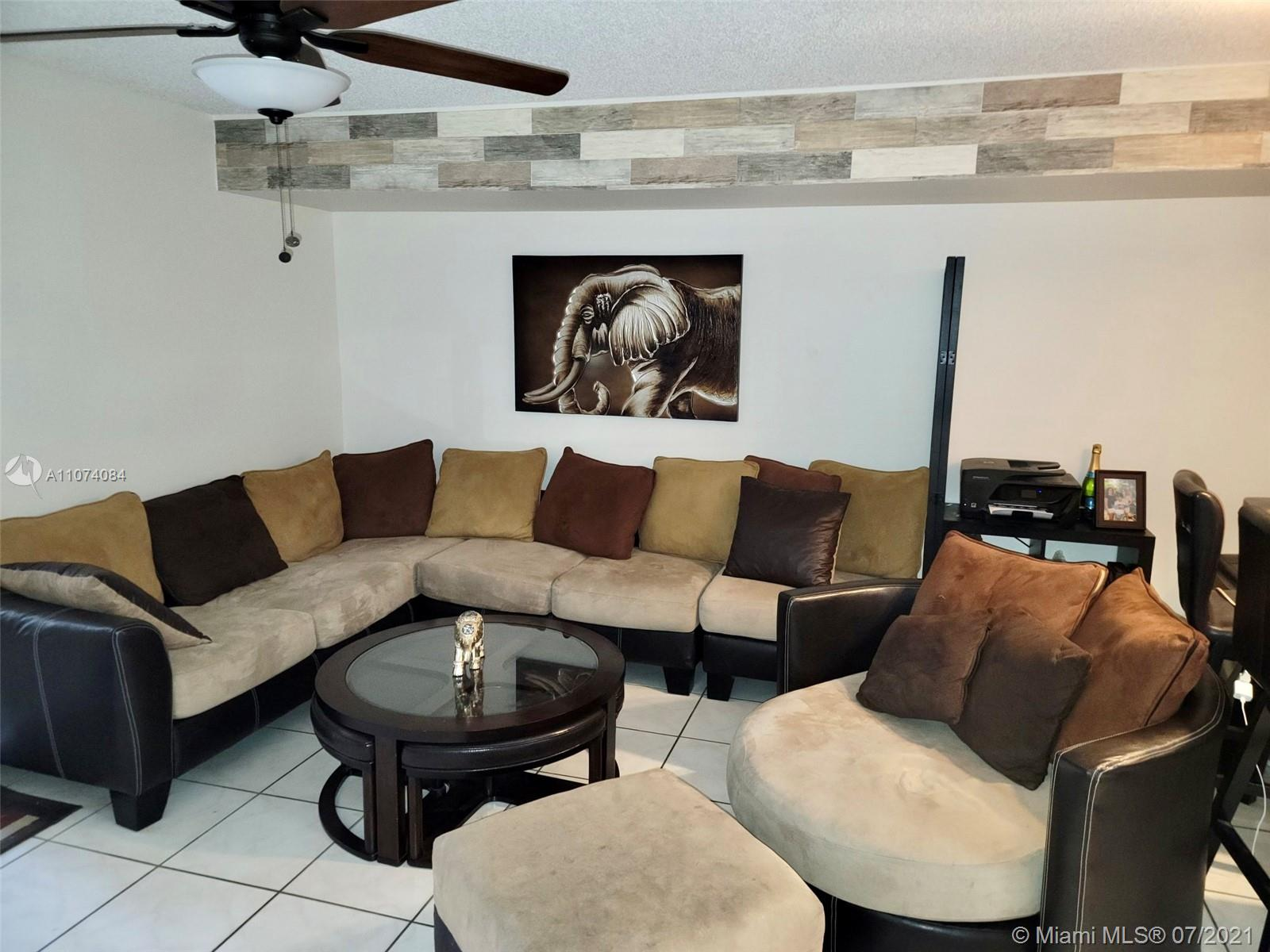 EXCELLENT SAN MARINO COVE 2/2 and a half WITH ONE CAR GARAGE.  The perfect family home. Updated Kitchen, half bath, and master Bathroom. Open living room kitchen and dining room area.   Well lit, spacious.  New stacked washer/dryer.  Screened in the patio next to the community pool.  Low monthly HOA, HOA covers roof repairs CANNOT LEASE FOR THE FIRST TWO YEARS.  PLEASE CALL THE OWNER TO SEE THE PROPERTY. GEORGE 9545794856 ROSE 9548019829   Note: **The owner of the property will be attending the open house** Sunday 25, 2021