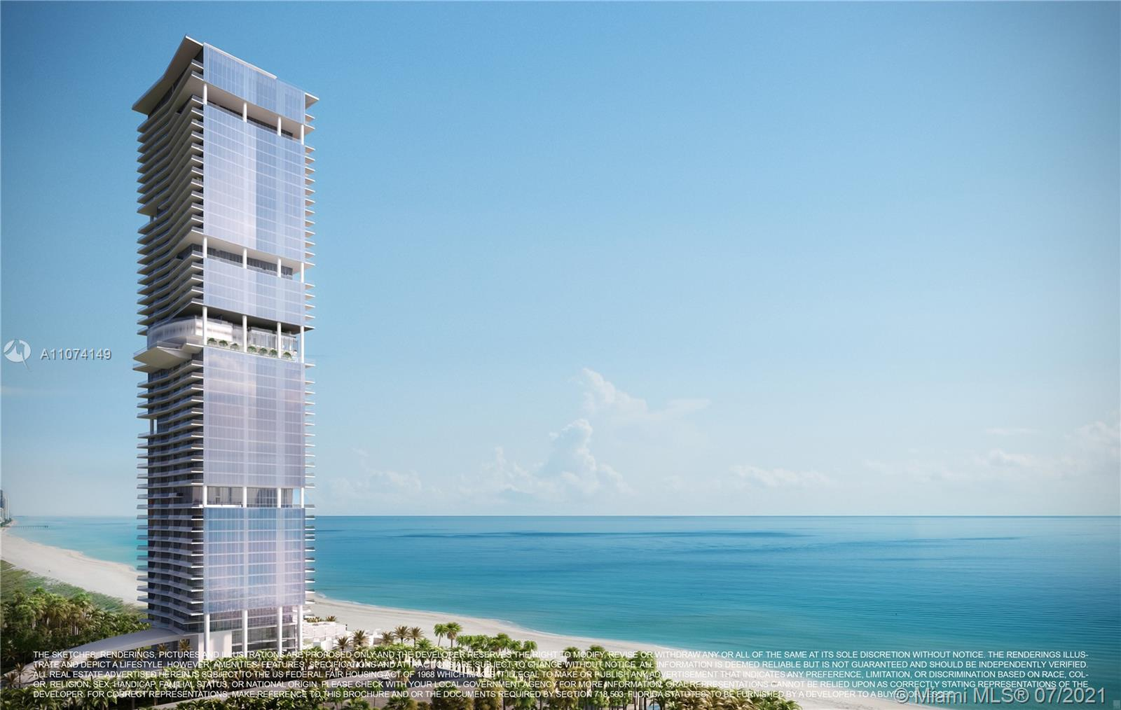 18501  Collins Ave #4404 For Sale A11074149, FL