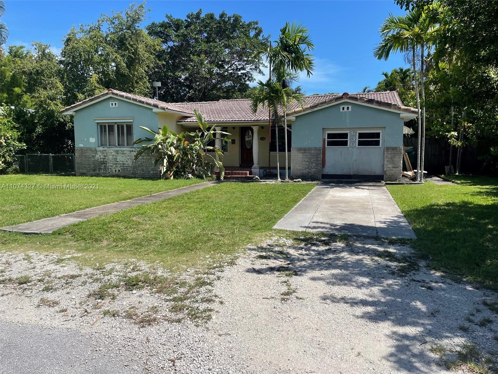 630 NE 52nd Terrace  For Sale A11074327, FL