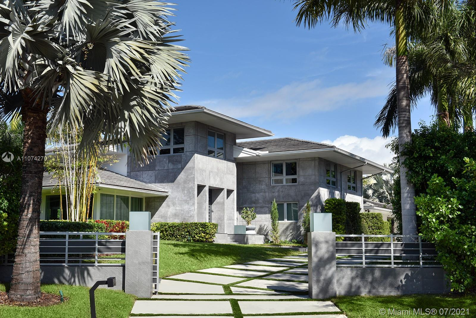 Spectacular and completely upgraded two & a half story home located in the much desired gated Cocoplum. Property has 6,350 sq. ft interior and sits on a lot of over 30,000 sq. ft. Lavish in this 6 Bed and 6 bath home with studio/7th bedroom with floor to ceiling impact windows and marble & wood floors. The spa style salted pool, Jacuzzi & cabana are surrounded by very delicate and sophisticated landscaping. Cocoplum phase I offers 2 tennis courts, guard-gated entrance, patrol by Coral Gables police & Cocoplum civic association (voluntary). The home is an absolute architectural masterpiece. Property is rented until 02/28/2022  for $ 21,000 per month
