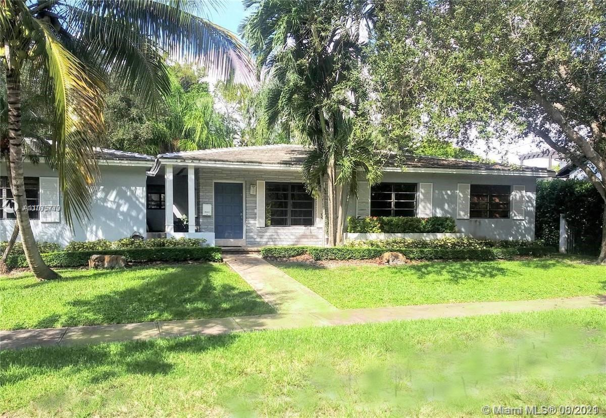 Coral Gables, Platinum Triangle. Near Cocoplum, Gables Estates, just off Old Cutler Road. Excellent home, swimming pool, and yard space. Lot size 10,000 sf. House is 2,241 sf, and a true 4/3 split plan. Not updated, needs renovation. Tenant occupied until Nov. 30. Owner-broker. Next showing is Wednesday 7/28 from noon til 2:00. Please stop by, thank you.