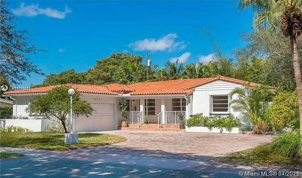 Sought after S. Coral Gables location! 3 bed 2 bths, plus a 1/1 in-laws, housekeeper, guest, etc.  Tastefully updated on a beautiful tree-lined street. Spacious home, eat-in kitchen, quartz & marble countertops in kitchen and baths, LED lighting, Covered back patio perfect for entertaining, New roof. Close to everything, University of Miami, South Miami restaurants and shopping, schools, hospitals, parks, etc.