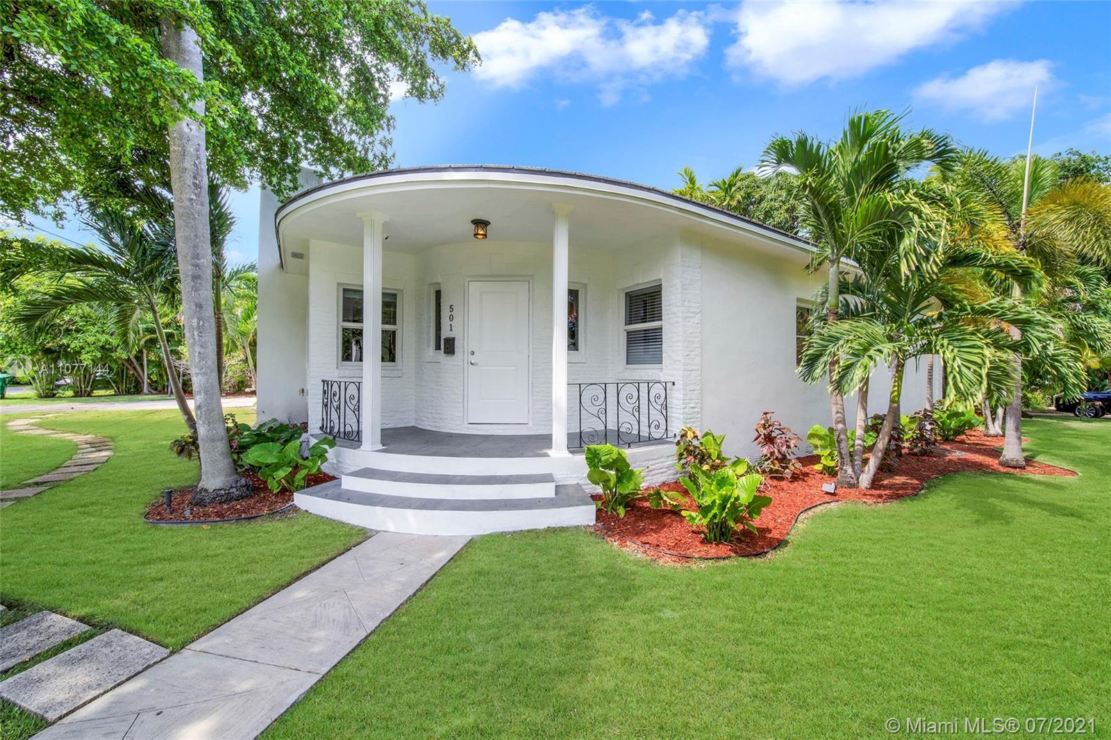 501 NE 55th St  For Sale A11077144, FL