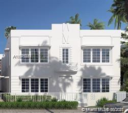 1610  Euclid Ave #A-107 For Sale A11075832, FL