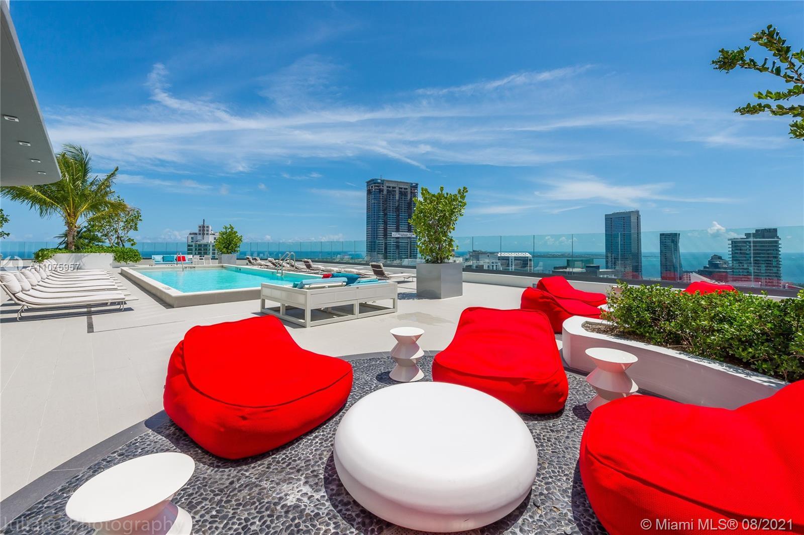 Roof Top Pool amenities