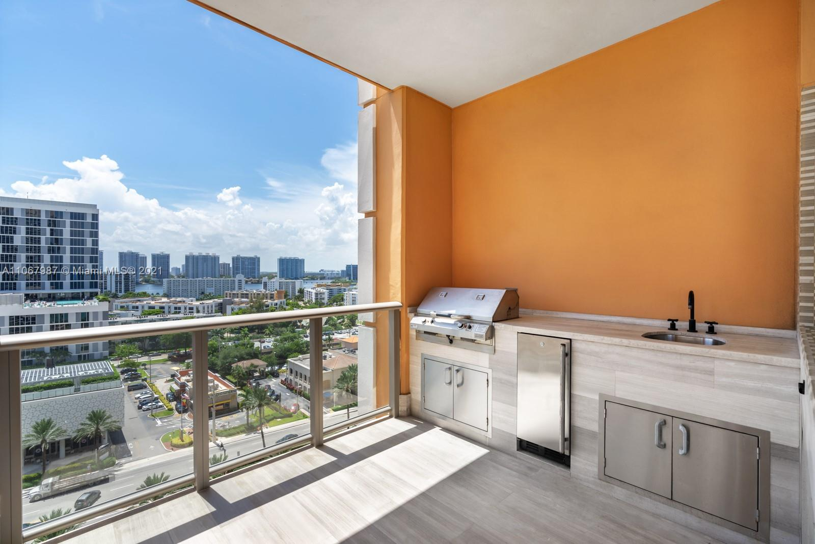 """Exceptional 3 bd, 6.5 ba residence in Sunny Isle's sophisticated oceanfront condo development, Mansions at Acqualina. The impressive unit feats. spectacular views of the ocean from the expansive balcony, living spaces and master bed. Master his & her spa-inspired baths. Kitchen is equipped with marble countertops, Miele appliances, and wine cellar. The stylish living room with fireplace leads to the balcony bbq grill and jacuzzi. The Mansions at Acqualina, situated on the pristine white sands of Sunny Isles Beach, offers oceanfront luxury living at its finest. The affluent complex offers unparalleled amenities incl. 2 oceanfront pools, poolside private cabanas, 16,000 sq ft state-of-the-art fitness center, """"grand salon"""" with catering kitchen and bar, full-service wellness spa and more."""