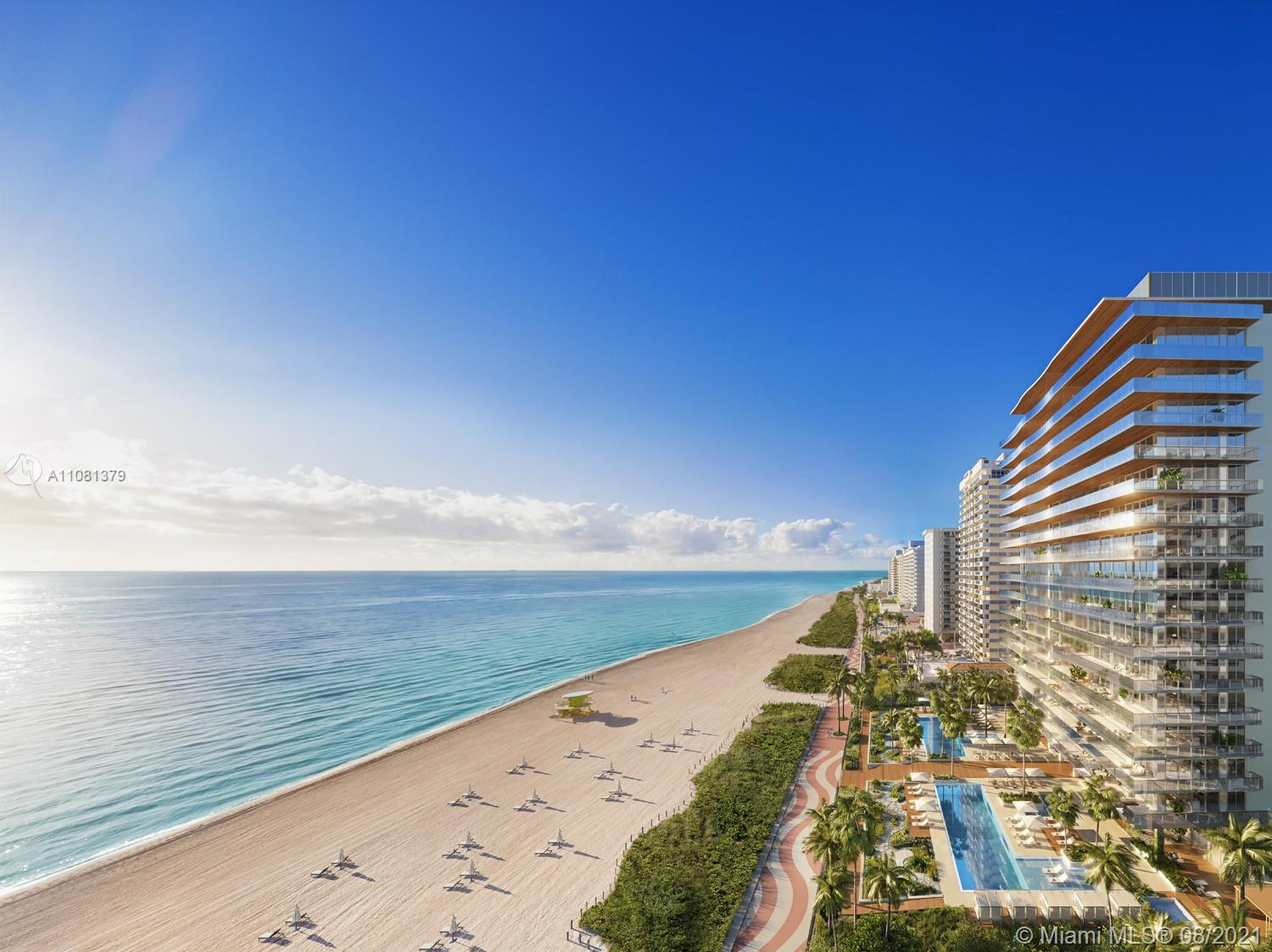 A heaven for quality time and tranquility, 57 Ocean is comprised of ocean front residences that share a privileged gaze over the sand of iconic Millionaire's Row, Miami Beach's most beautiful and exclusive stretch of beach front. The rest of the remark is on the body of the email