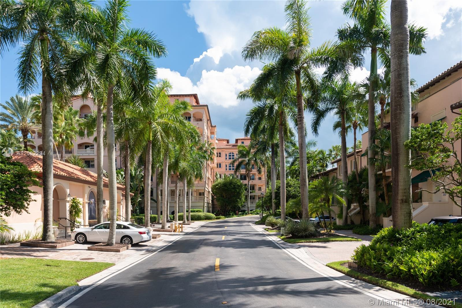 """Deering Bay, an oasis in Coral Gables! Private apartment with wrap-around terrace, where palm trees & nature surround you and you will enjoy the most beautiful sunsets. You are literally steps from the marina, pool, yacht club, tennis & golf course. This unit in Padua is one of the BEST DEALS IN CORAL GABLES. Padua is a """"European-feel"""" Boutique-style condo with open air corridors, 2 units per floor, 5-story condo within the private gated community of Deering Bay Yacht & Country Club. 220 acres of bucolic grounds to explore. """"A"""" rated schools. 2 assigned covered parking & 1 golf cart spot. Deering Bay is among the most prestigious zip codes in South Florida, & if you're looking for a special opportunity, come & see this one! """"Complete Design Plans for Open Floor Plan Available""""."""