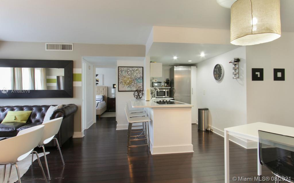 Location; Great unit walking distance to the beach, Ocean Drive, Lincoln Rd, world-class restaurants, shops, clubs, parks, and botanical gardens. Building amenities include a pool, gym, parking space, Laundry facilities bike storage. 24-hour security.