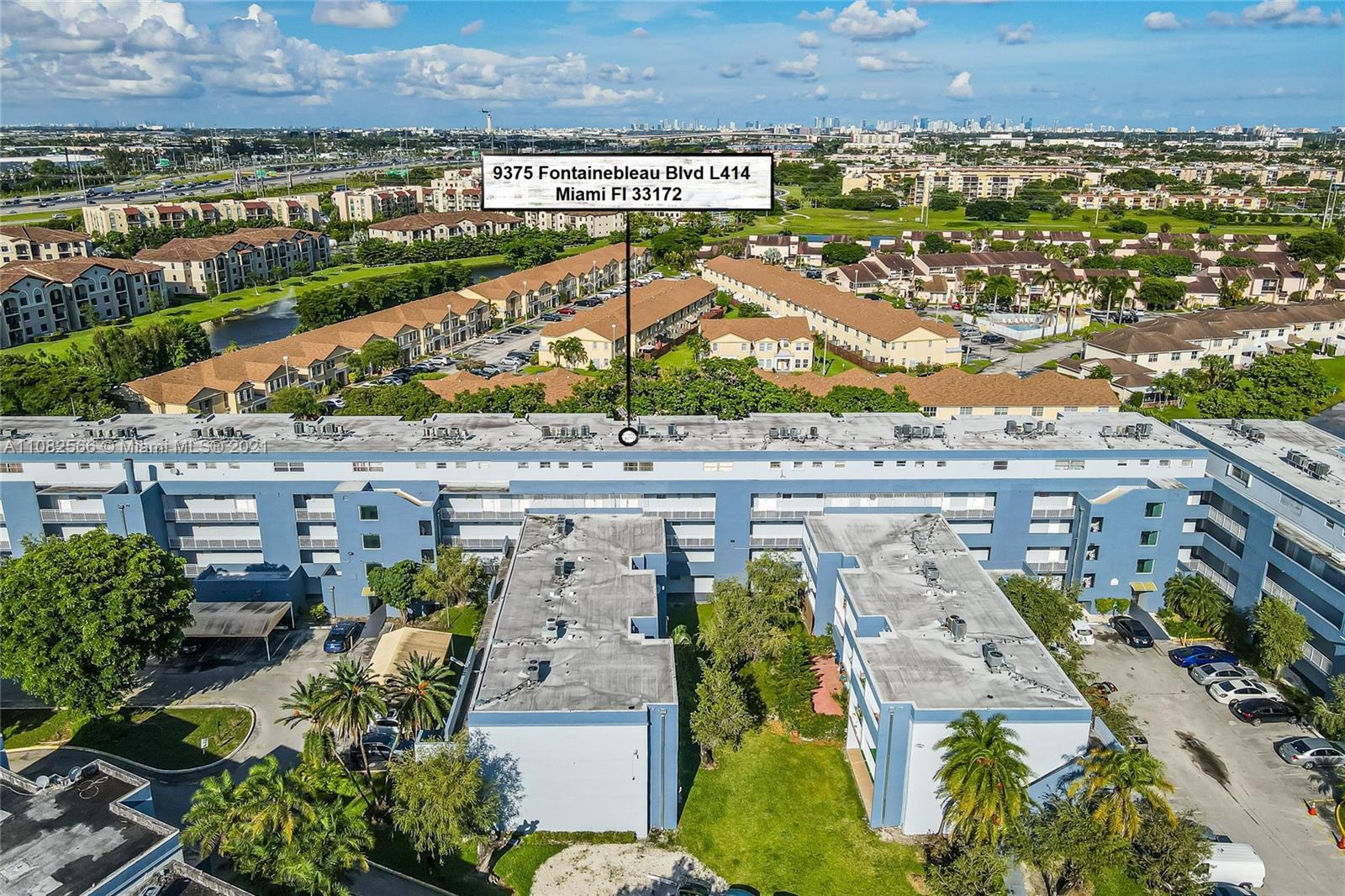 9375  Fontainebleau Blvd #L414 For Sale A11082566, FL