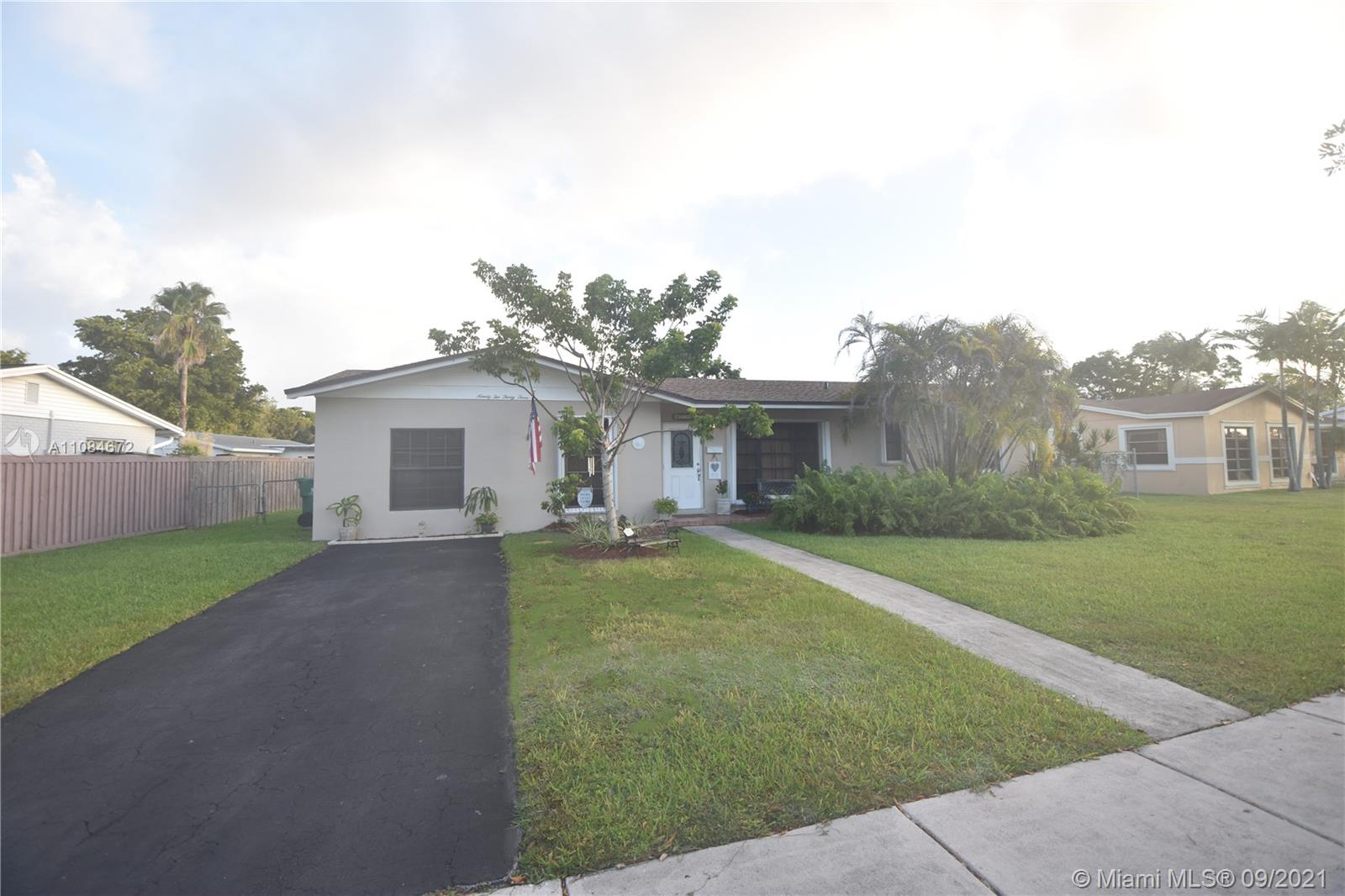 Open Saturday 9-18 - 1-3 pm.!  Palmetto Bay Beauty on sidewalk lined street.  All remodeling is fully permitted!  Excellent Location!  New Roof in 2019. Four Bedroom Split Plan on interior street with LOW Traffic.  Hurricane Accordion Shutters, Custom Pergola, Custom Central Air Conditioner. Full Appliances, Updated Baths, Open Kitchen with Dining room combination and Laminate and Wood Cabinets. Tile Floors, Walk-in closet, Split Floor Plan.  Larger, unique shaped Lot, Excellent access for Boat and RV storage. Schools are Miami Palmetto, Palmer Trinity, Cutler Bay Coast, Mater, Southwood.  Village of Palmetto Bay location, Brand-new Publix! Beautiful!