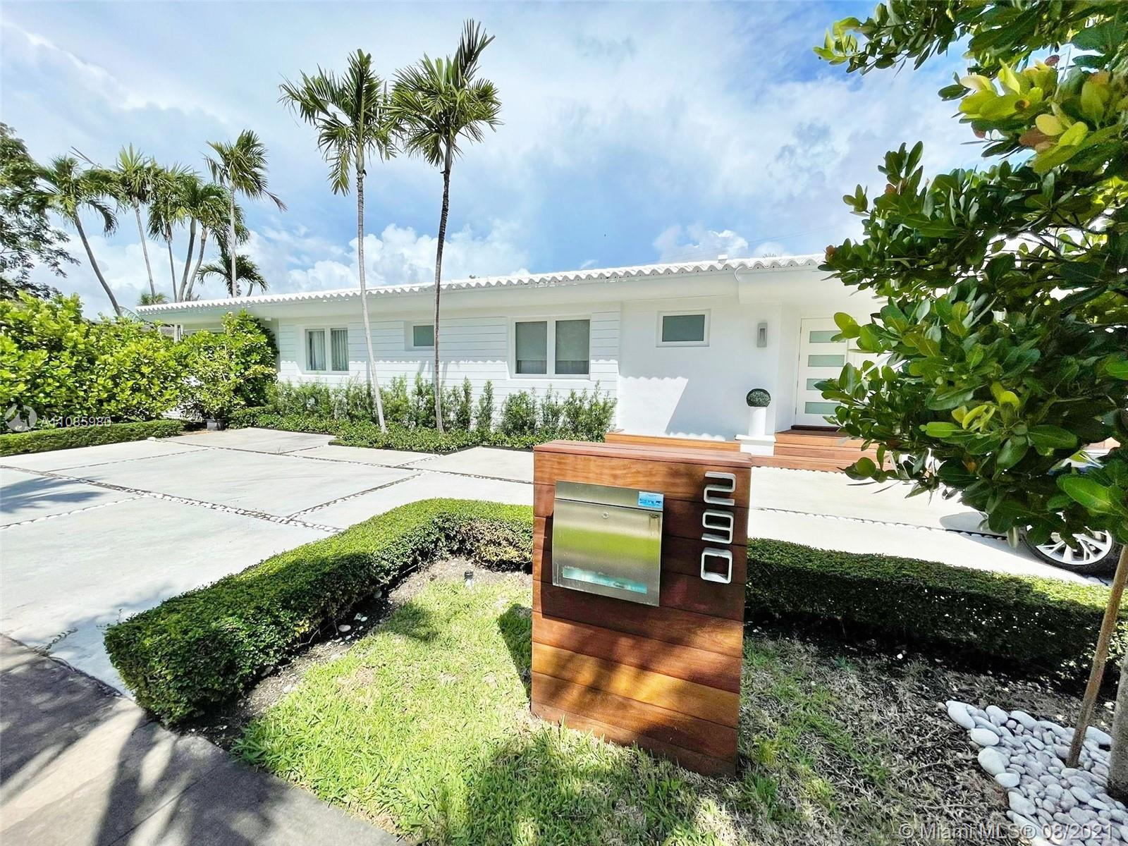 Great Location!! Close the best schools in Miami. 5 minutes to Brickell, 10 minutes to Key Biscayne and 15 minutes to the Miami International Airport. Gorgeous fully renovated home in Bay Heights. Top of the line appliances and finishes with plenty of natural light and a beautiful backyard with large swimming pool. This incredible house has 4 bed 3 full bath inside the house and another full bath in the garage area with a medium bedroom.