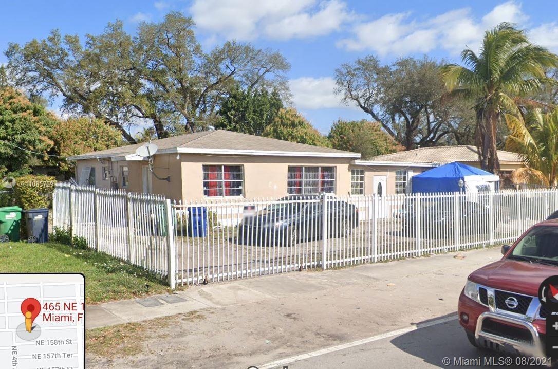 465 NE 159th St  For Sale A11085709, FL