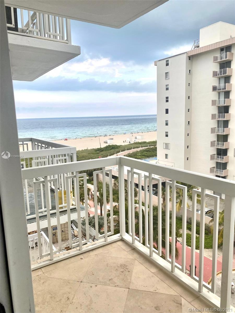 This completely remodeled unit is located right on Ocean Drive with direct access to South Beach and the boardwalk. Walking distance to restaurants and entertainment. Quiet building with secured lobby. Washer and dryer inside unit. Furniture included.