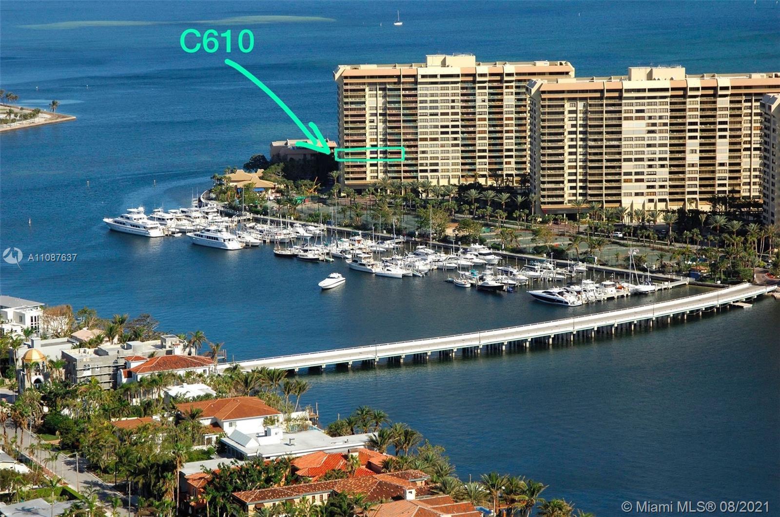 3  Grove Isle Dr #C610 For Sale A11087637, FL