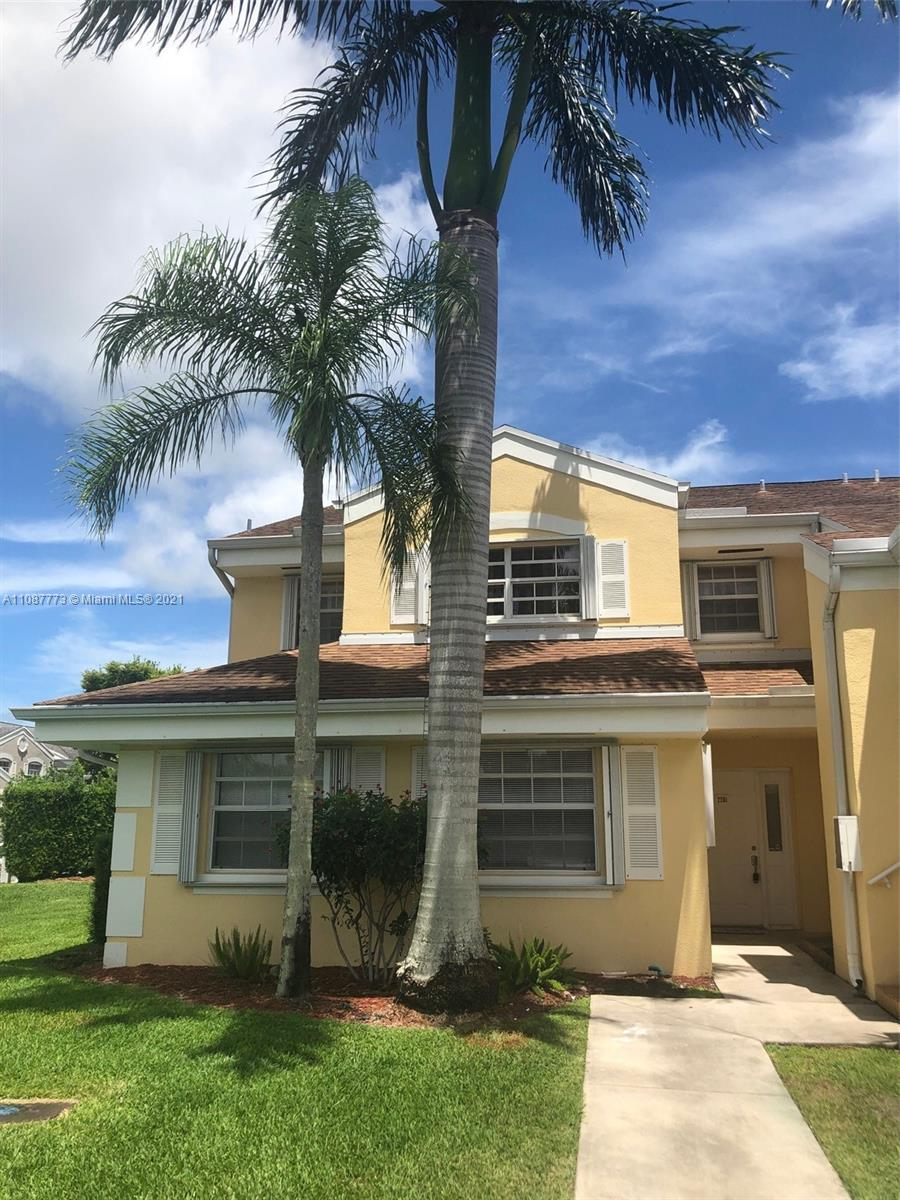 Beautiful 2 bedroom, 2 bathrooms condo, First floor unit. Located in the gated community at Keys Gate. The apartment has just been painted, Many Amenities clubhouse, gym, pool, sauna, hot tub, tennis & 24hr gated & security patrol. Parking right in front of door. Close to major highways. Turnpike, US1. Easy to get to Florida Keys. Outlets and big stores near by. Lockbox on site for easy showing