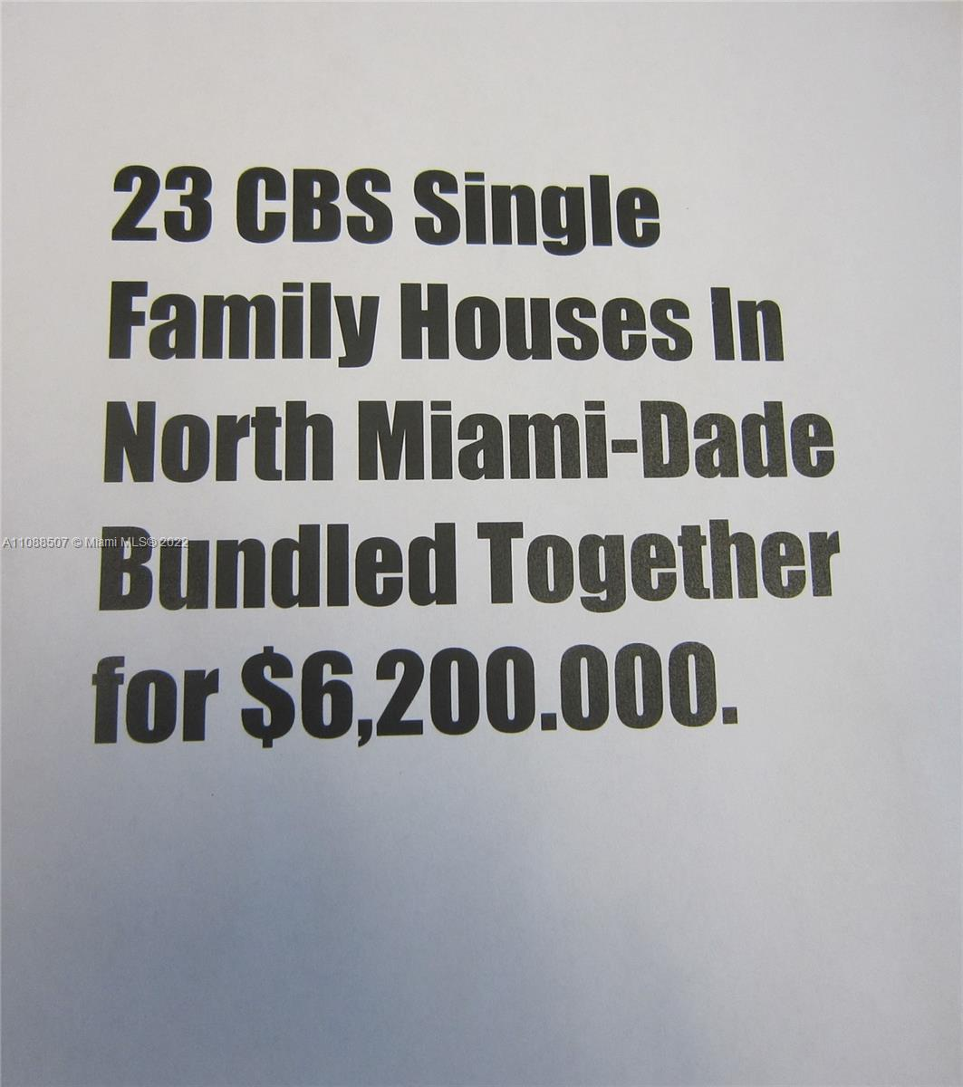 Undisclosed For Sale A11088507, FL
