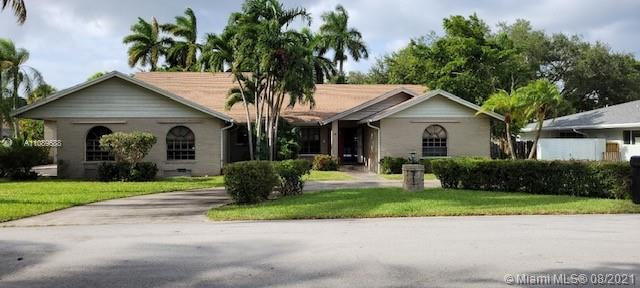 A spacious 4/3.5 single family home  in the most desirable areas of  Palmetto Bay. This home has a great floor plan with a huge backyard, swimming pool, and two separate 2 car garages that fit 4 cars in total! This home has a lot of potential come and update it to your taste. Similar size properties in the area are getting sold for around $1 Million. Please find corporate addendum in the attachment.