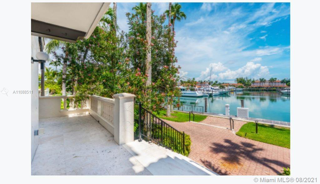 One-of-a-kind ground floor masterpiece, completely renovated. The unit being sold is 2513 Fisher Island Dr. which is now combined with unit 2514 and is to be separated into 2 Folio numbers to be able to only sell unit 2513 Fisher Island. Maintenance fee is to be determined once the units are separated. Unit features 2 bedrooms, 2.5 bathrooms, state-of-the-art kitchen and bathrooms, window treatments, and floor through, ceiling sliding Impact glass doors. Terrace overlooking the Fisher Island Marina. Easy to show.