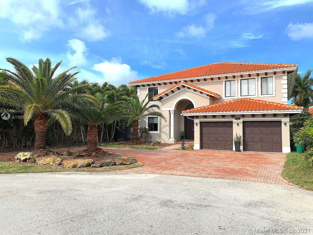 NEWLY REMODELED HOME - Exceptional 7/4 two-story single-family home at Desirable at Cutler Cay community one the best gated community. Two brand new AC, Recessed LED lighting thorough out first and second floor. High end LED chandelier. Elegant entrance with high ceilings, Beautiful floors through the first floor and second floor hallway, spacious upgraded custom kitchen with top of the line countertops and brand new top of the line appliances, an over size kitchen island, eat-in area next to the family room, an oversize backyard and patio with plenty of space for the kids to play with room for a big pool. Three bedroom downstairs and a huge master bedroom w/ balcony and 3 big size bedroom on second floor. Property could be rented furnished for $12000 per month.