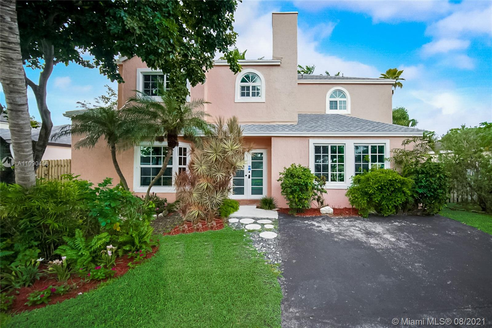 This Cutler Bay two-story home offers a patio.