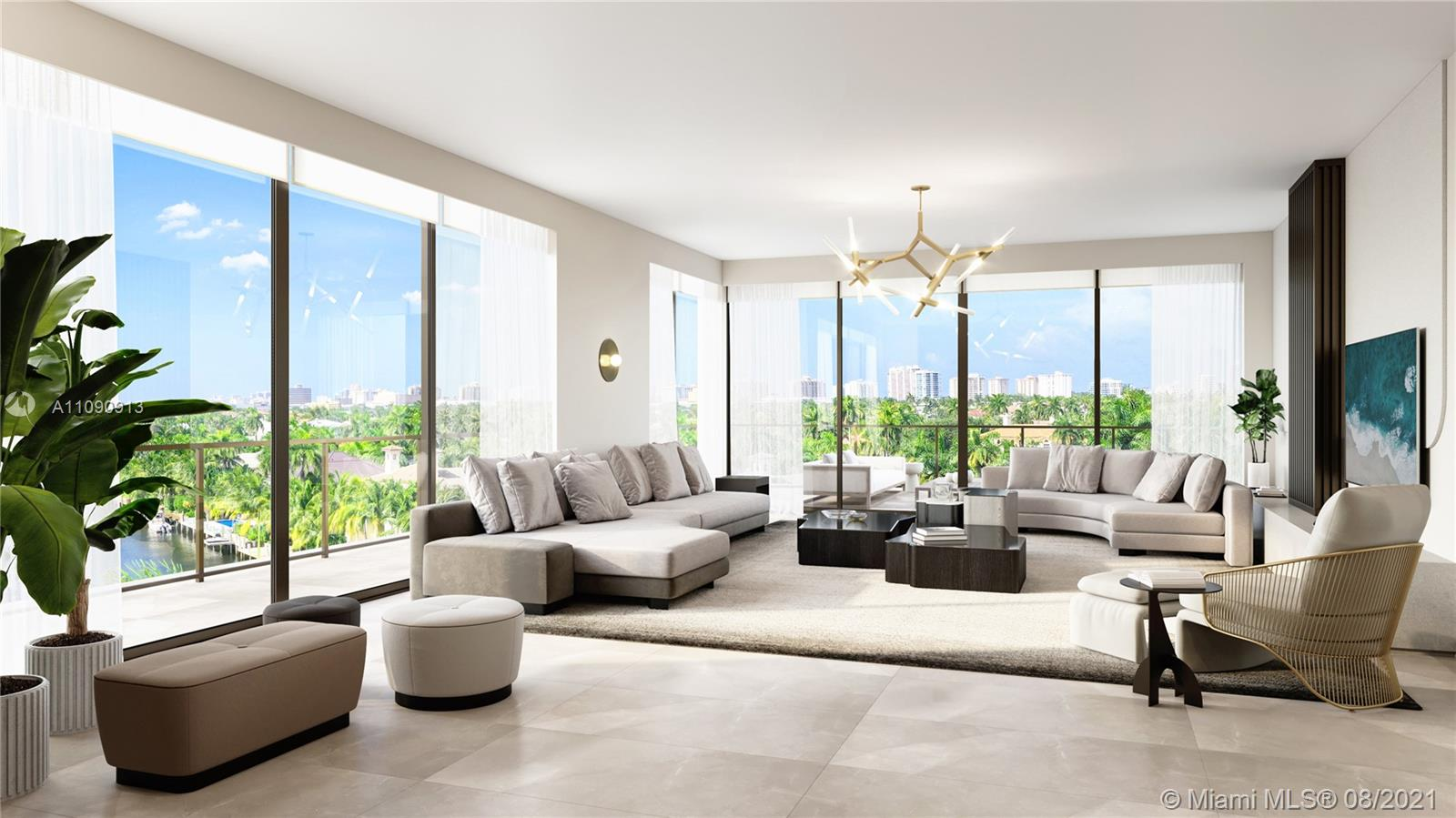 160 Marina Bay- Fort Lauderdale's most exclusive, ultra-luxurious boutique building. 5-stories & 16 striking three-bedroom finished residences w/ over 3,400 Total SF including expansive wraparound waterfront terraces. Centrally located within walking distance of Las Olas Blvd & the beach: the perfect blend of Beach & City! 10' ceilings, private elevator lobby to each residence, Italian cabinetry w/ high-end appliances, built-in bar in dining room, SMART HOME: control lights, front door, shades & even master shower by voice control! Private Marina w/ 14 boat slips, pool overlooking canal w/ cabana & BBQ area, self-servicing package lockers & more! Strategically located near the east-facing far end of Isle of Venice Dr for more privacy & stunning waterway views. Slated completion EARLY 2022!