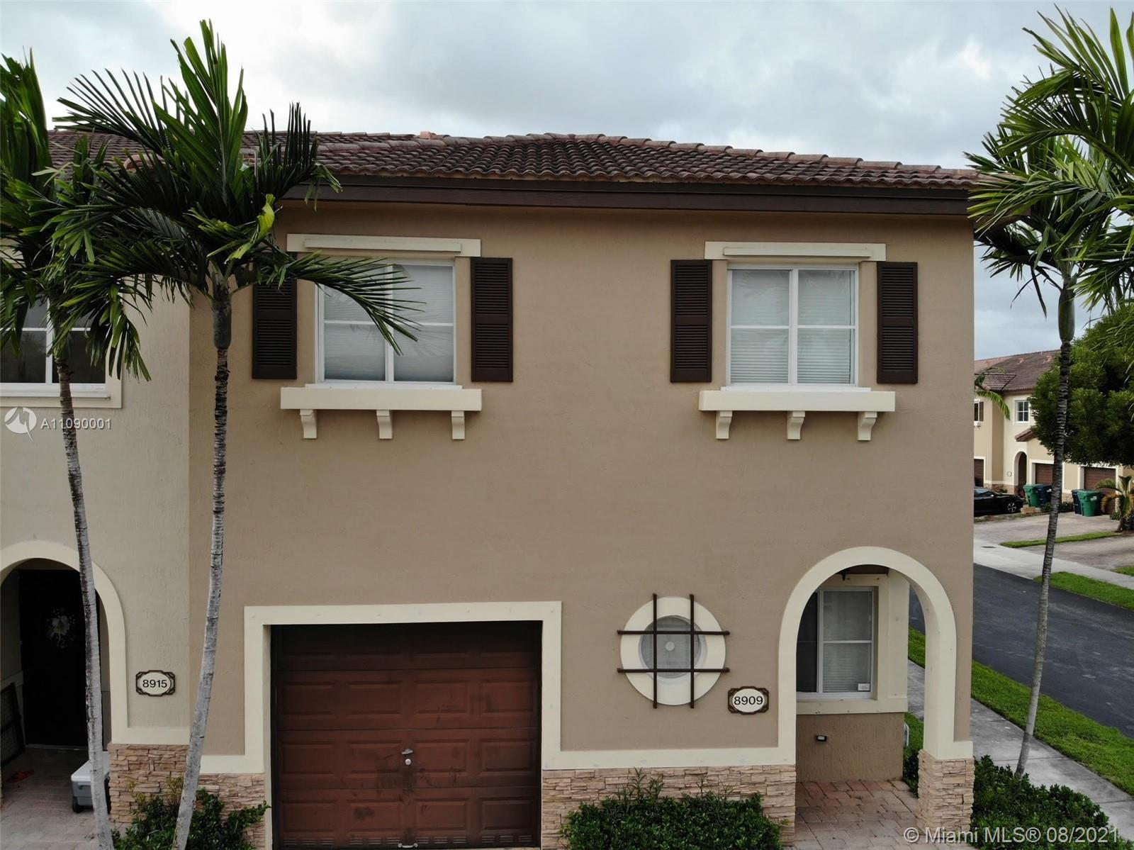 Great corner unit in an excellent community, great conditions, ready to make it your home. Show it and rent it. Send me your best offer. Full application, background check and pay stubs. HOA approval required, HOA application attached. NO PETS. First and TWO Deposits. Supra lock Box. Please turn off all lights and lock all doors