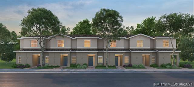 """*NEW CONSTRUCTION PRICING* Townhome and Villas, paver entry, walkway & patio w/Fence,18""""x18"""" tile floors main floor! Low HOA, Trash Removal, Landscaping, Playground and more.  Amazing location - 2 minutes from US1 and EXIT 1 Turnpike, Near to Los Cayos, next to shopping center, schools & daycare. Get seller-contribution with closing costs w/use of preferred lender and title company! BRAND NEW HOME! CALL FOR A TOUR AND MOVE IN SPECIALS- Restrictions may apply *Pictures, photographs, features, colors and sizes are approximate for illustration purposes only and will vary from the homes as built. These photos are not of the actual home but are similar to the home being built."""