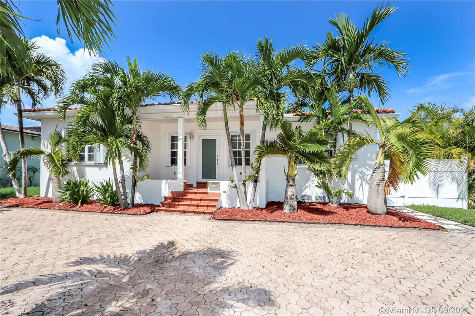 This Miami Beach house is only 1 mile from the beach and surrounded by multi million dollar waterfront homes. Spacious, 2530 square feet, 4 bedroom 3 full baths with large family room and good size backyard to build your dream pool. Property features impact front door plus accordion hurricane shutters throughout, updated kitchen and baths, marble floors, natural gas and more.... Located in prestigious Biscayne Point guarded island, minutes to South Beach, Aventura, Miami International Airport, Brickell and plenty of entertainments/dinning areas of Miami in general. Call us, easy to see!