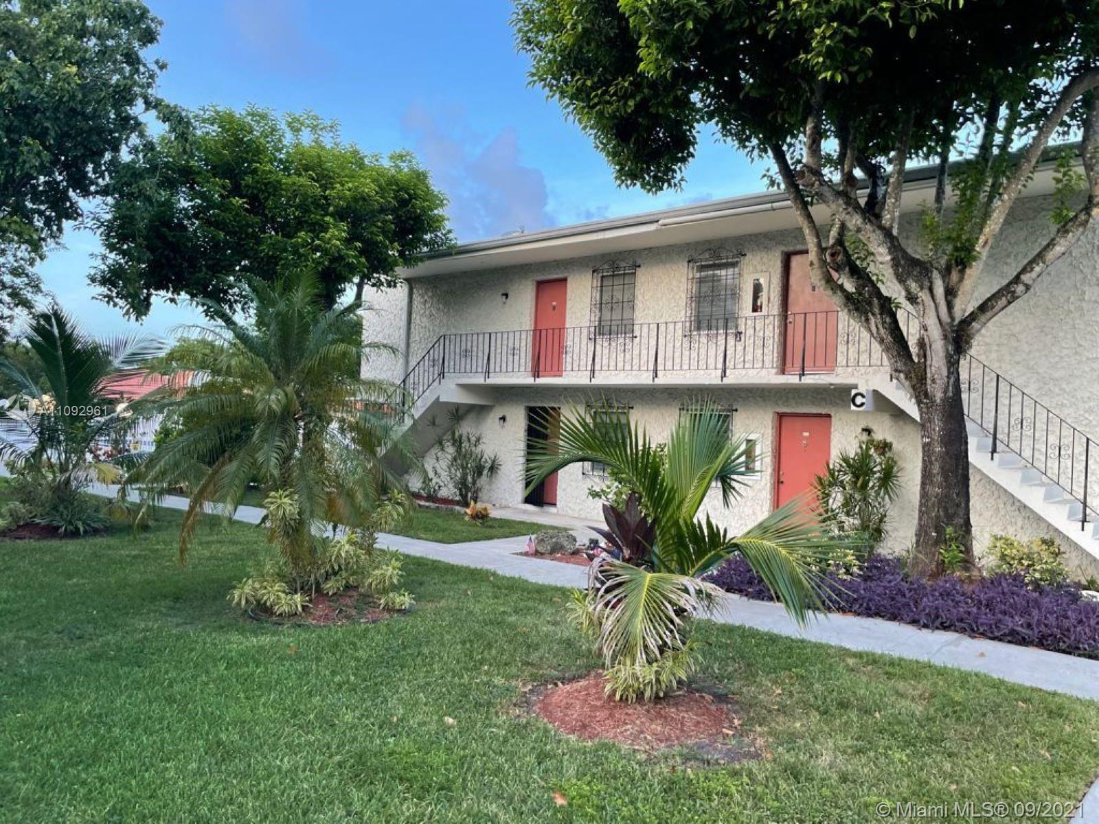 Be the first to enjoy this newly remodeled 1/1 unit in the secret treasure that is Casa Granada, a quiet garden condo community nearby all the action!  This second floor unit has a new kitchen with quartz countertops, bathroom with shower and laminate flooring throughout, ceiling fans and central air. Enjoy your peace while sitting in the large balcony.  The community offers a pool and laundry facilities as well as outdoor sitting areas.  If you want to live in a quiet community yet be within walking distance of shopping, this is the place for you!
