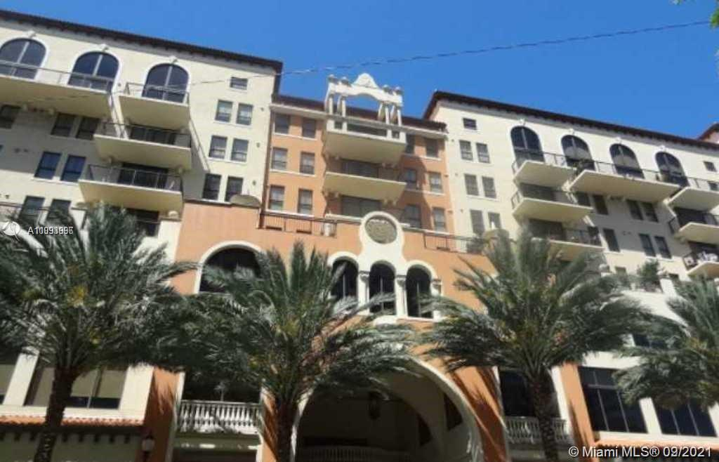 Prime location in Coral Gables in a prestigious building, centrally located within walking distance to restaurants, cafes, cinema, bookstore, shops & more. Unit features split floor plan, two master suites, marble floors & carpet in bedrooms, S/S appliances, Italian cabinets, granite countertops, built-in closets, washer & dryer inside unit. Amenities include a fully equiped gym, large pool, hot tub, well appointed lobby, 24 hrs concierge, billiards and more. The building location is convenient with the proximity of the airport, Brickell, U of M, and beaches.