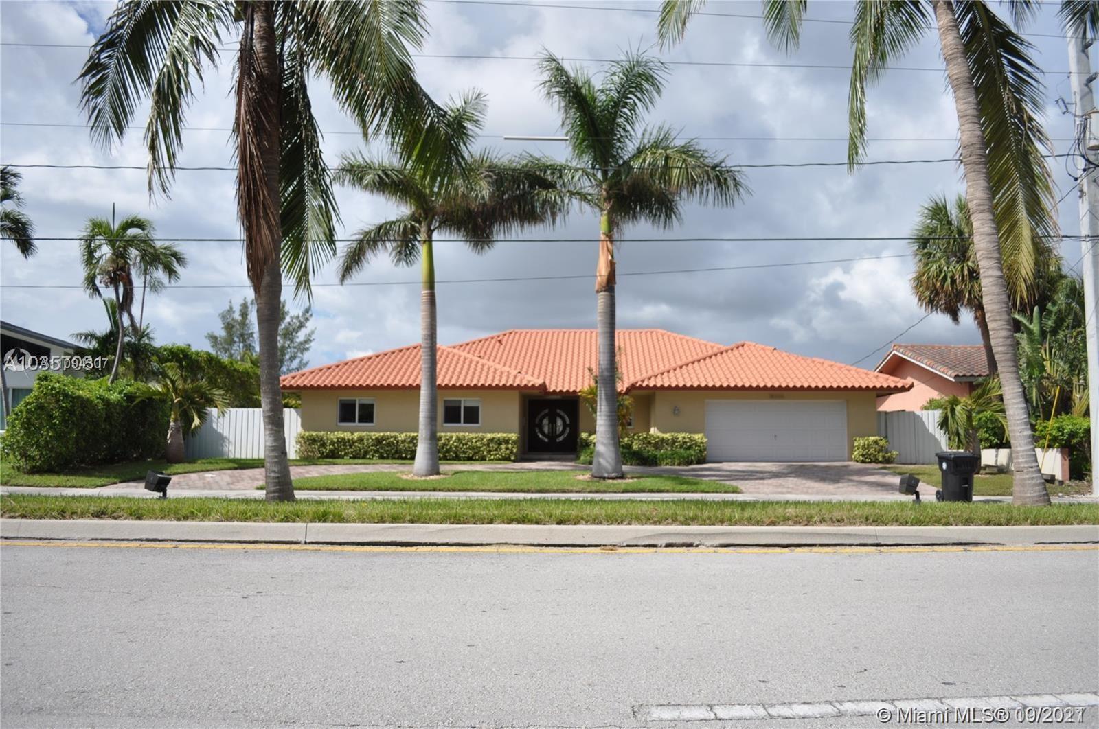 16650 NE 35th Ave  For Sale A11094307, FL